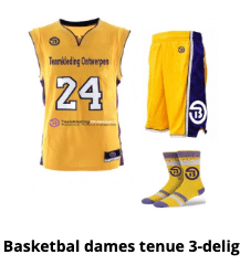 Basketbal tenue